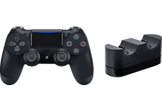 SONY PS4 Wireless Dualshock 4 , Controller + Charger, Schwarz