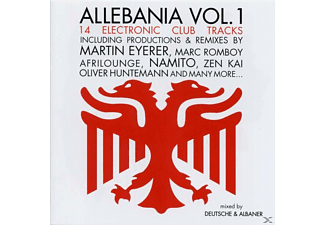 VARIOUS - allebania vol.1 - (CD)