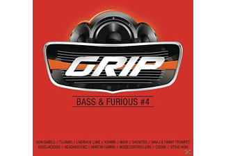 VARIOUS - GRIP Bass & Furious,Vol.4 - (CD)