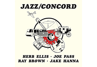 Herb Ellis, Ray Brown, Joe Pass, Jake Hanna - Jazz / Concord (High Quality Edition) (Vinyl LP (nagylemez))