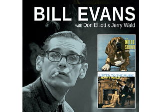 Bill Evans, Don Elliott, Jerry Wald - Mello Sound of Don Elliott / Listen to the Music of Jerry Wald (CD)