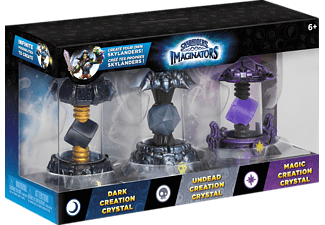 SKYLANDERS Skylanders Imaginators: Crystals 3er Pack (Dark, Undead, Magic) Spielfiguren