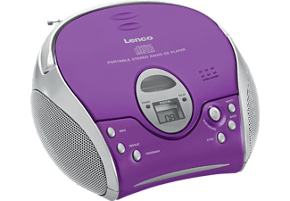 LENCO LENCO Portable radio-cd-speler