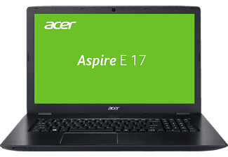 ACER Aspire E 17 (E5-774G-73JZ), Notebook mit 17.3 Zoll Display, Core™ i7 Prozessor, 8 GB RAM, 128 GB SSD, 1 TB HDD, NVIDIA® GeForce® 940MX, Schwarz