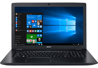 ACER Aspire E 17 (E5-774G-35Q8), Notebook mit 17.3 Zoll Display, Core™ i3-6006U Prozessor, 4 GB RAM, 1000 GB HDD, GeForce 940MX, Schwarz