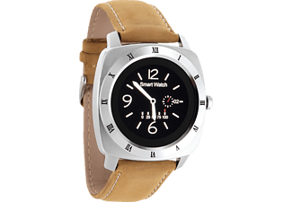 XLYNE NARA XW PRO, Smart Watch, Leder, 260 mm, Silber