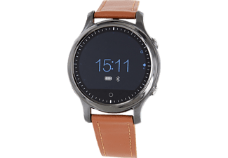 XLYNE QIN XW PRIME, Smart Watch, Leder, 250 mm, Silber