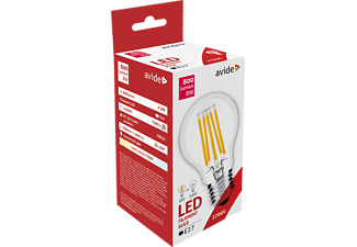 AVIDE ABLFG27WW-8W LED Filament Gömb 8W E27 WW