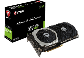 MSI GeForce GTX 1070 Quick Silver OC 8GB (V330-069R), NVIDIA, Grafikkarte