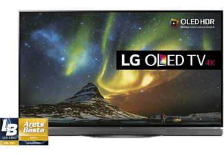 "LG OLED55E6V 55"" Smart 4K OLED TV - Svart"