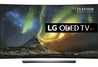 "LG OLED65C6V 65"" Smart 4K OLED TV - Svart"