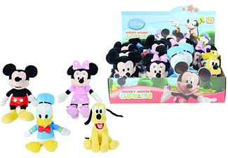 Disney Mickey, Minnie, Donald, 20cm, 4-fach sortiert