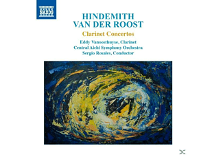 Vanoosthuyse/Rosales/Central Aichi SO - Klarinettenkonzerte - (CD)