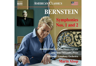 Marin/baltimore So Johnson Cano/thibaudet/alsop - Sinfonien 1+2 - (CD)