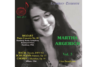 Martha Argerich - LEGENDARY TREASURES-MARTHA ARGERICH VOL.5 - (CD)