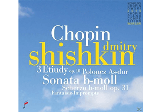 Dmitry Shishkin - 3 Etudes op.10 & Sonata In b flat minor & Polonai - (CD)