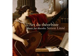 SIMMON LINNE/ - L'Art Du Theorbiste-Music For Theorbo - (CD)