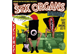 The Sex Organs - Intergalactic Sex Tourists - (LP + Bonus-CD)