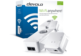 DEVOLO dLAN® 550 Wifi Starter Kit Powerline - (9638)