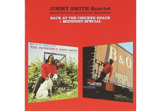 Jimmy Smith Quartet - Back at the Chicken Shack/Midnight Special (CD)