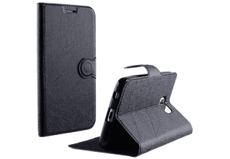 VOLTE-TEL Θήκη Sony Xperia E5 F3311 Line Leather-TPU Book Stand Black - (5205308173042)