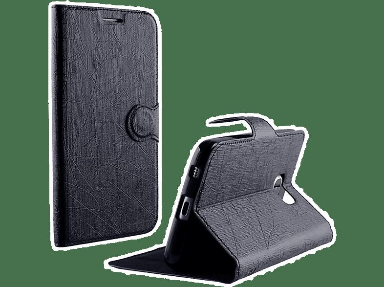 VOLTE-TEL Θήκη Sony Xperia E5 F3311 Line Leather-TPU Book Stand Black - (5205308 τηλεφωνία   πλοήγηση   offline αξεσουάρ κινητής smartphones   smartliving αξεσου