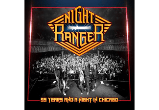 Night Ranger - 35 Years and a Night in Chicago (CD + DVD)