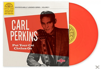 Carl Perkins - Put Your Clothes On - (EP (analog))
