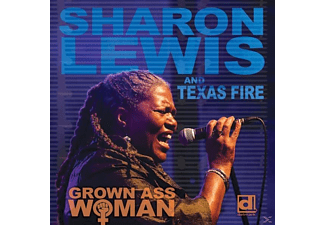 Sharon Lewis & Texas Fire - Grown Ass Woman (CD) - (CD)