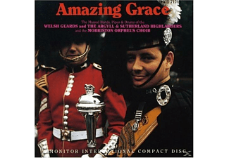 Agryll & Sutherland, The Morriston Orpheus Choir, Welsh Guards - Amazing Grace - (CD)