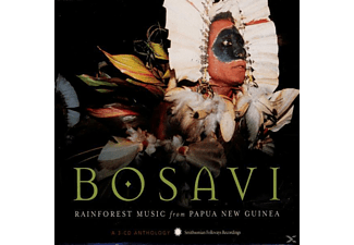 VARIOUS - BOSAVI. RAINFOREST MUSIC FROM PAPUA - (CD)