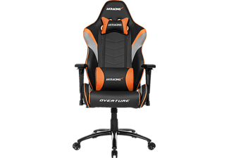 AKRACING Overture, Gamingstuhl, Schwarz/Orange/Grau