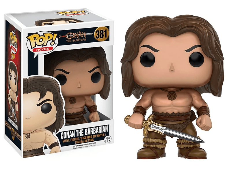 Pop! Movies Conan The Barbarian - Conan The Barbarian #381 Vinyl Figure gaming παιχνίδια φιγούρες