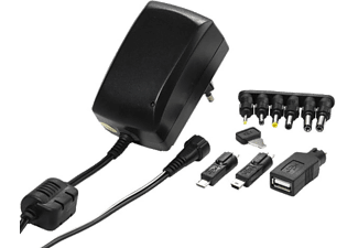 VIVANCO AC/DC Universell adapter, 3-12V+ USB, 5V