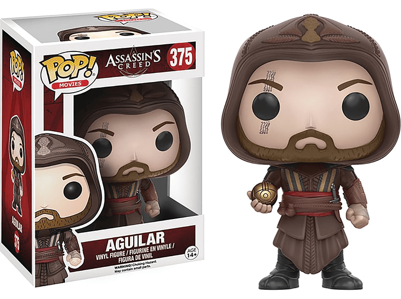 Pop! Movies Assassins Creed - Aguilar #375 Vinyl Figure gaming παιχνίδια φιγούρες