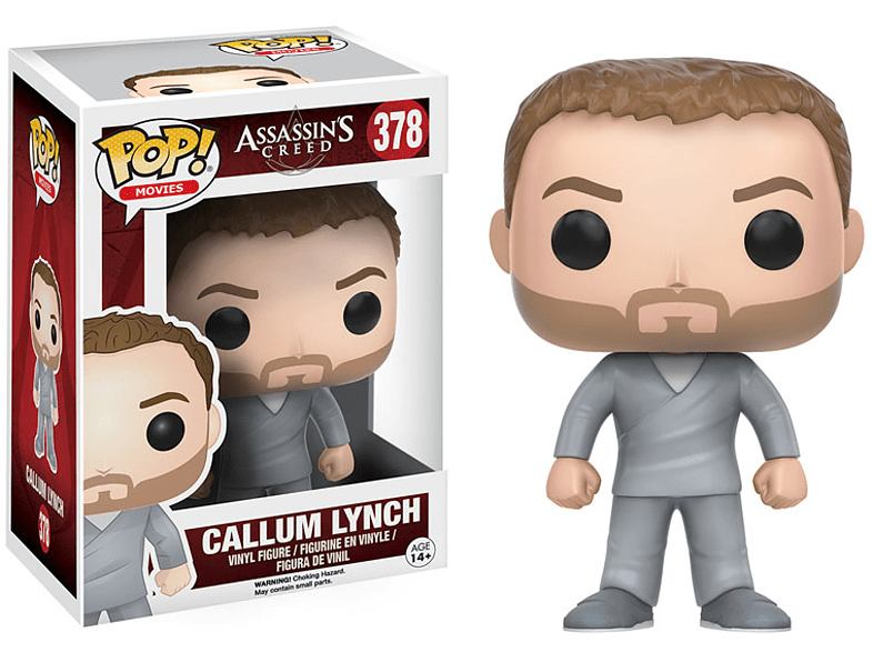 Pop! Movies Assassins Creed - Callum Lynch #378 Vinyl Figure gaming παιχνίδια φιγούρες