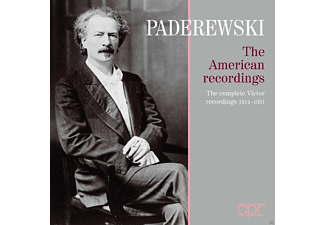 Ignacy Jan Paderewski - The American Recordings (1914-1931) - (CD)