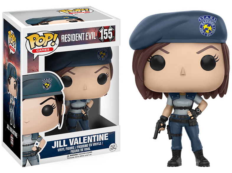 Pop! Games Resident Evil - Jill Valentine #155 Vinyl Figure gaming παιχνίδια φιγούρες