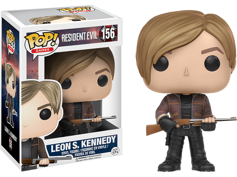 Pop! Games: Resident Evil - Leon Kennedy #156 Vinyl Figure gaming παιχνίδια φιγούρες