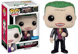 Pop! Heroes: Suicide Squad Joker In Suit #107 Vinyl Figure