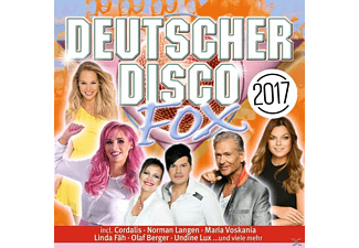VARIOUS - Deutscher Disco Fox 2017 - (CD)