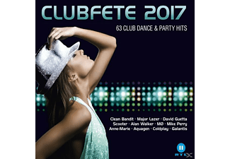 VARIOUS - Clubfete 2017-63 Club Dance & Party Hits - (CD)