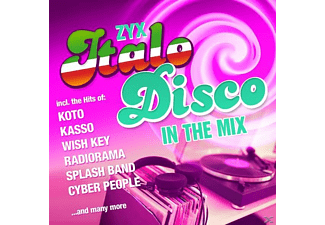 VARIOUS - ZYX Italo Disco In The Mix - (CD)