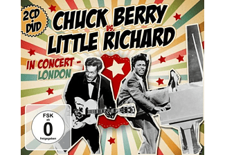 Chuck & Little Richard Berry - Chuck Berry vs. Little Richard In Concert-London - (CD + DVD Video)