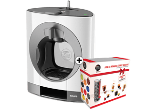 KRUPS Nescafe Dolce Gusto Oblo White + Gift Box - (KP1101GB)