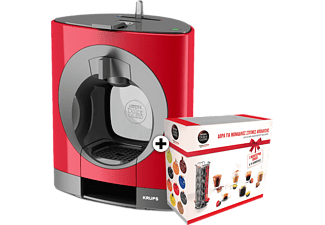 KRUPS Nescafe Dolce Gusto Oblo Red + Gift Box - (KP1105GB)