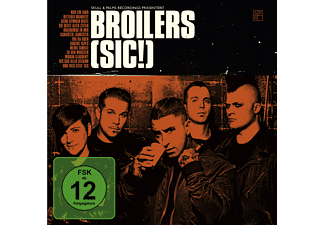 Broilers - (sic!) Limited Fan-Box - (CD + DVD Video)