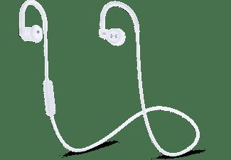 JBL Under Armor in ear bluetooth koptelefoon met heart rate monitor wit