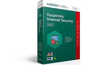 KASPERSKY Internet Security 2017 (5 pc)