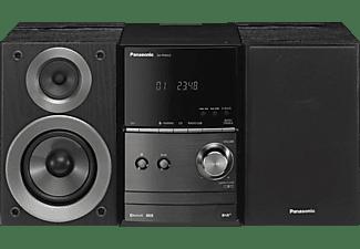 PANASONIC SC-PM602, Micro-Anlage, 40 Watt, Schwarz